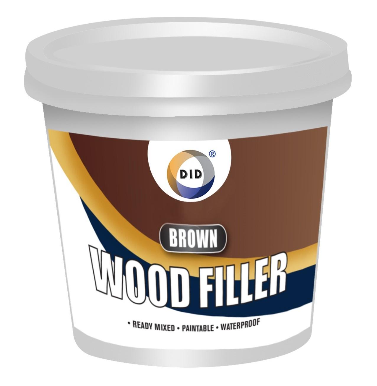 Brown wood filler