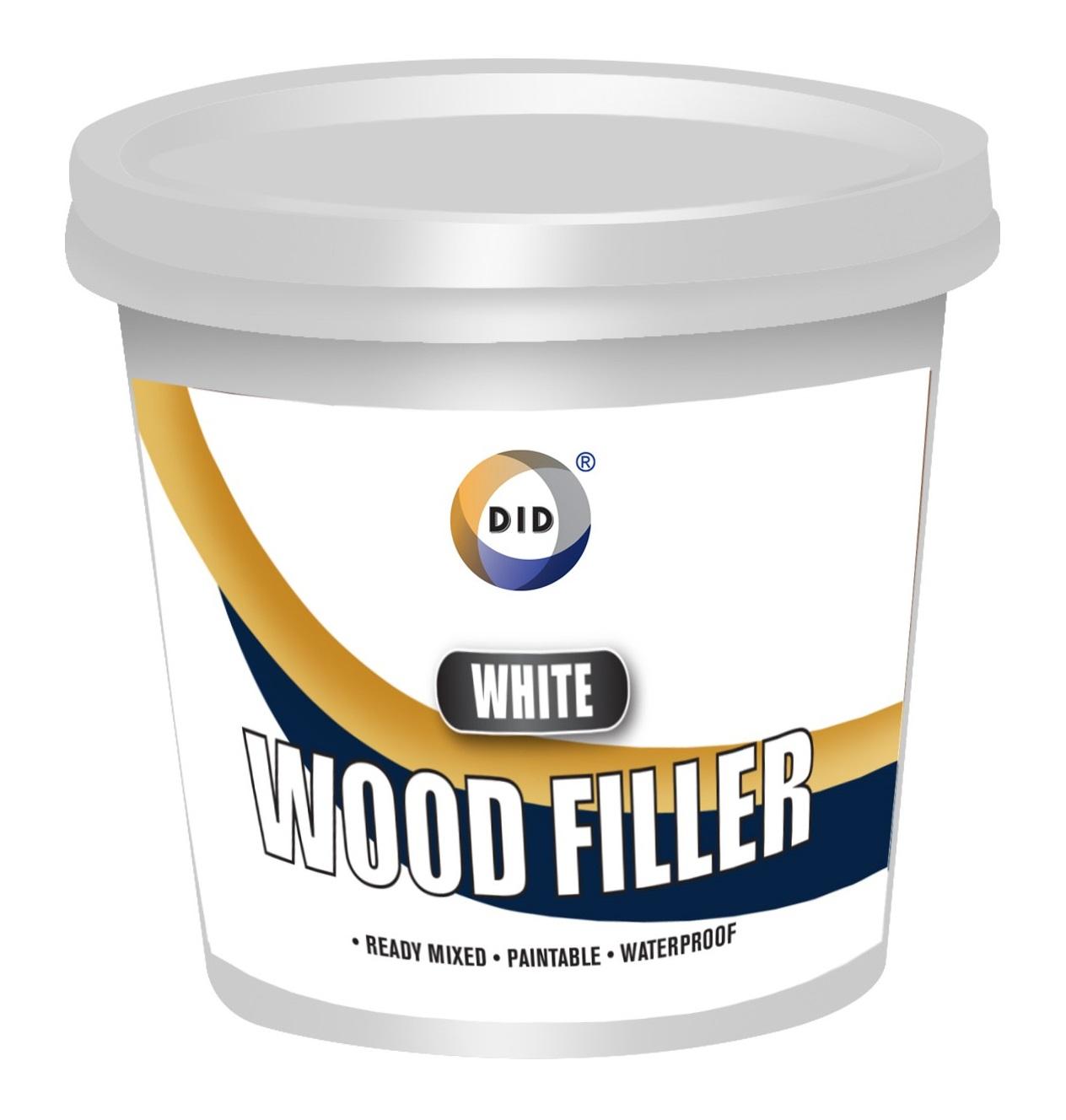 Clear wood filler